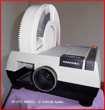 Dia-Magazin HANIMEX Rondex 120