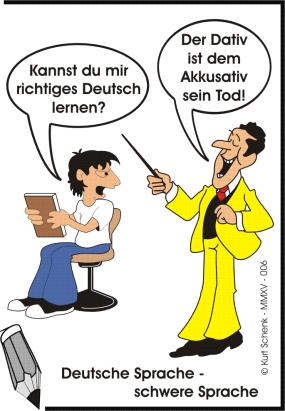 Deutsch - Dativ - Akkusativ