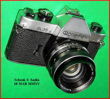 Rolleiflex SL35 - geneigt
