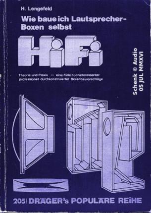 Lengefeld - HiFi-Boxen, Selbstbau