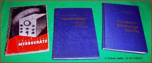 Lennartz - Messgeräte, Fernsehempfänger, Transistorschaltungen