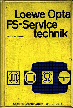 F. Moehring - Loewe Opta - FS-Servicetechnik