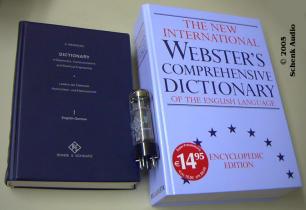 Wernicke und Webster's - Wörterbücher