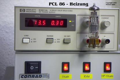 PCL86 - Heizung am Stabi