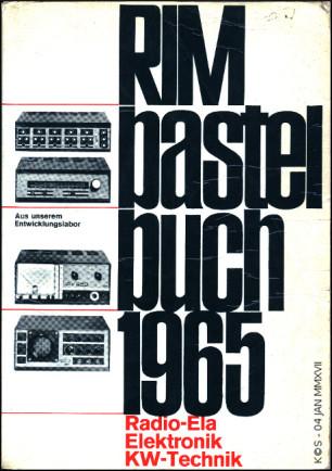RIM Bastelbuch 1965