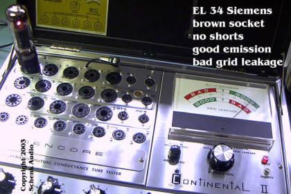 Siemens EL34 - grid leakage