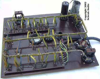 Funke W18 - Sockelkasten, Verdrahtung