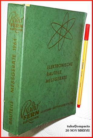 Radio Fern Elektronik - Katalog, 1964