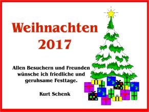 Weihnachten 2017