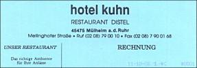 Hotel Kuhn - Restaurant Distel