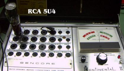 RCA 5U4 - altersschwach