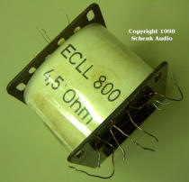 Wickelkörper EL 84b für ECLL800 nach SEL-Daten
