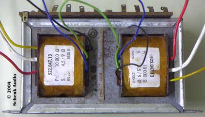 Ausgangstrafo ELL80/ECLL800 - Köco 522.047.13