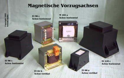 Magnetische Vorzugsachsen