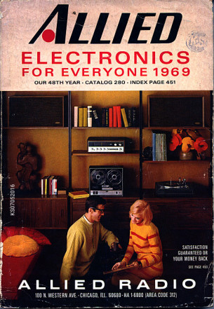 Allied Electronics - Katalog 1969