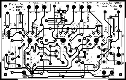 PCL86_88 - Layout + Bauteile