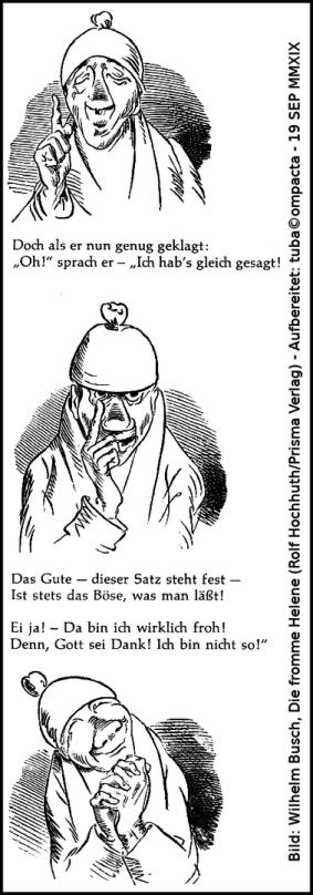 Wilhelm Busch - Onkel Nolte
