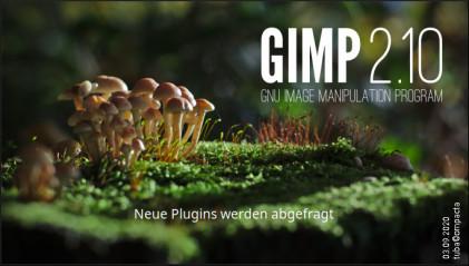 GIMP 2.10 - Titelbild